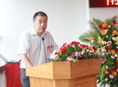 鹏广达集团董事,常务副总裁李莫明现场致辞